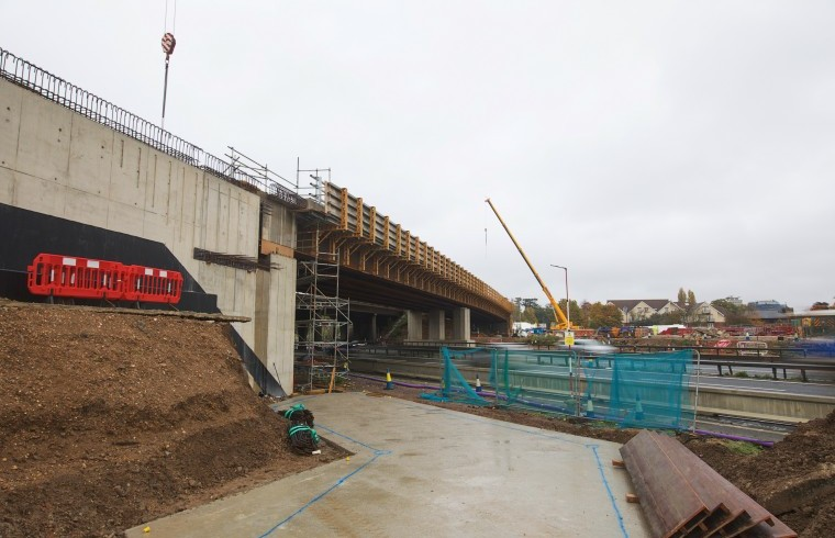M4 Junction 3-12 Motorway Upgrade