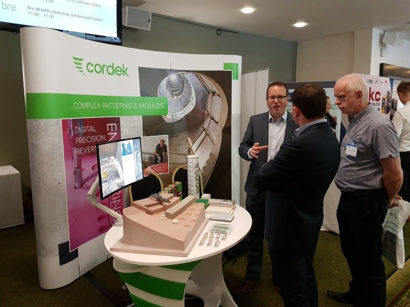 ​Cordek exhibit at Precast Conference and Expo 2017
