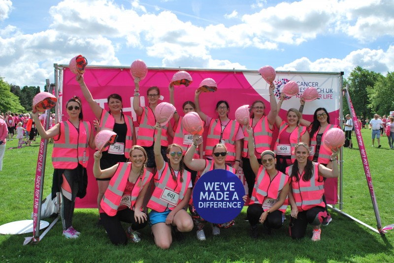 Cordek joins the race for life to help beat cancer