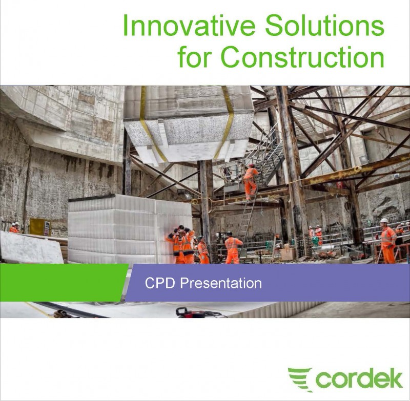 Cordek launches new CPD