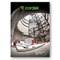 Cordek launches new Construction Solutions Brochure
