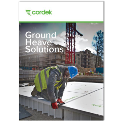 Cordek launches NEW Ground Heave Solutions Brochure