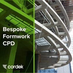 Cordek launches NEW Bespoke Formwork CPD