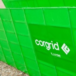 Corgrid, a new time-saving permanent formwork system