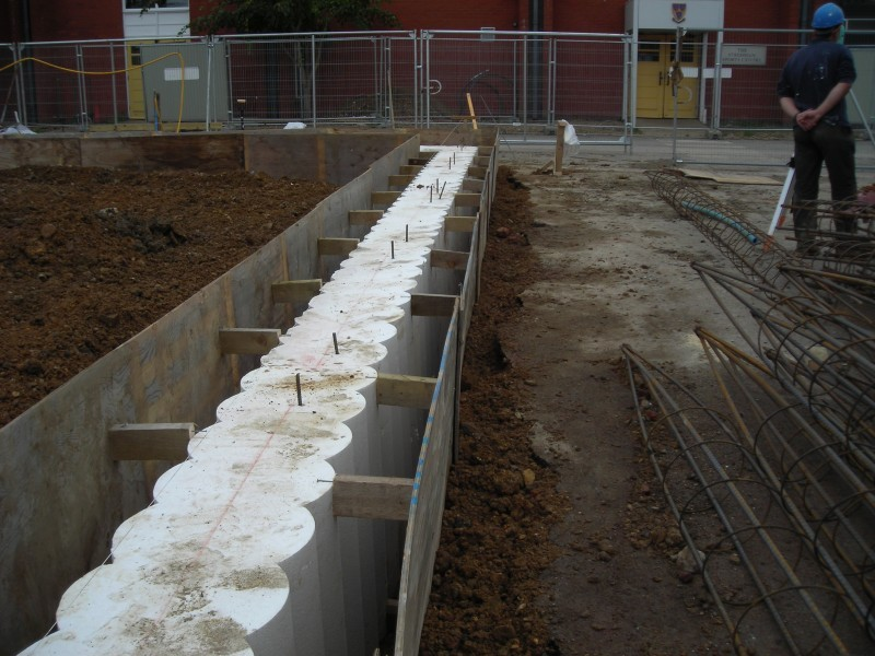 Sacrificial Guide Wall Formers Piling Products Cordek