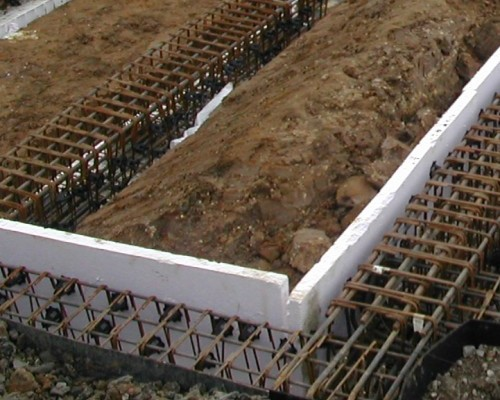 Ground Heave Solutions Collapsible Polystyrene Formwork
