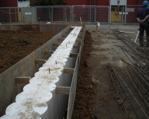 Concrete piling products cordek cordek for Concrete piling cost