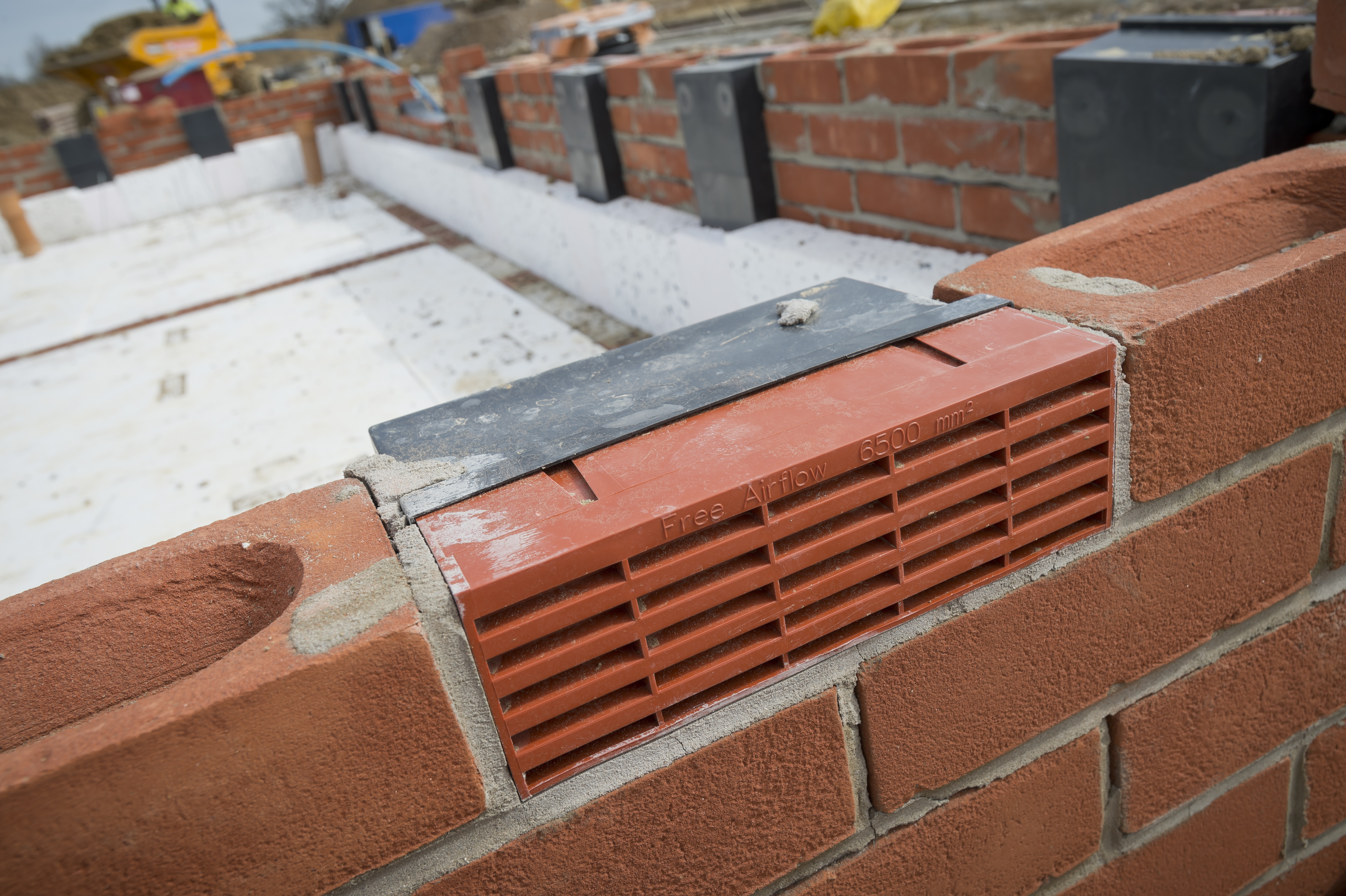 Air brick covers homebase patio