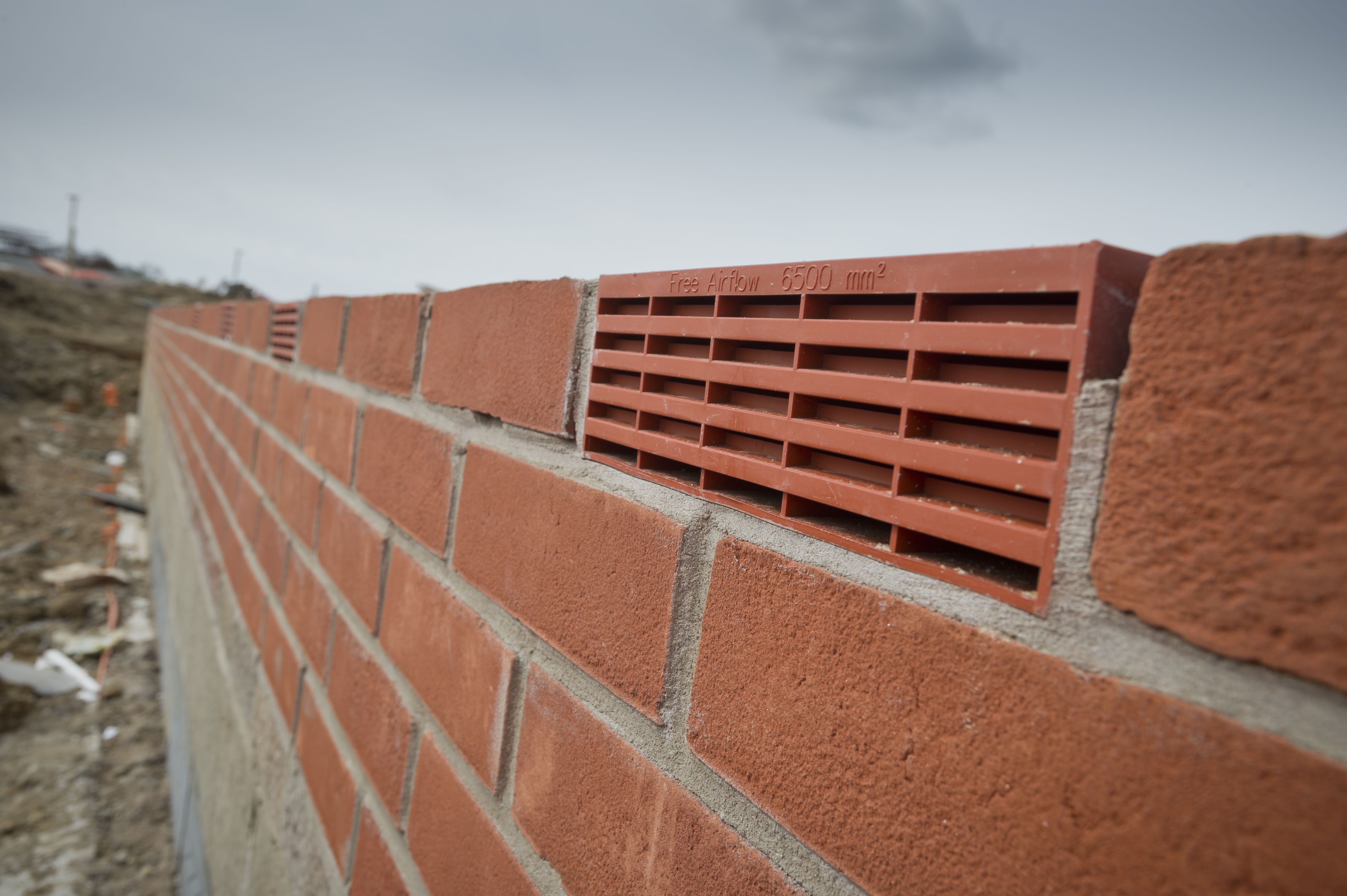 air bricks and adjustable cavity vents voc and ground gas